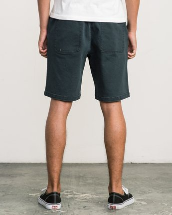 4 AR Everyday Elastic Short Black M203SREV RVCA