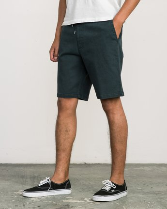 2 AR Everyday Elastic Short Black M203SREV RVCA