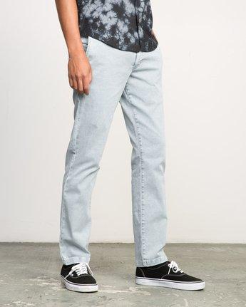 4 Daggers Rinsed Chino Pant Blue M301NRDR RVCA