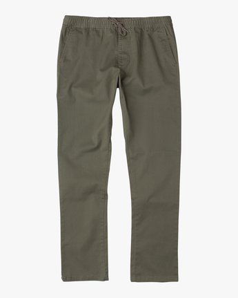 Image result for rvca weekend elastic pant olive