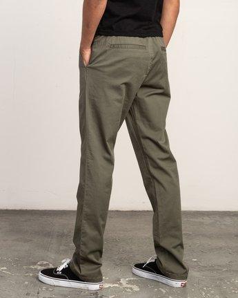 2 Weekend Elastic Pant Green M302TRWE RVCA