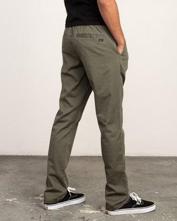 4 Weekend Elastic Pant Green M302TRWE RVCA