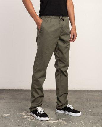 5 Weekend Elastic Pant Green M302TRWE RVCA