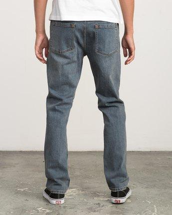 3 Daggers Slim-Straight Jeans Multicolor M303QRDA RVCA