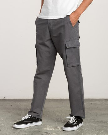 1 Expedition Cargo Pant Grey M304QREX RVCA