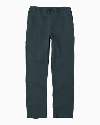 6 AR Everyday Elastic Pant Black M304SREV RVCA