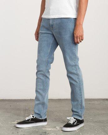1 Hexed Slim Fit Denim Jeans Blue M306QRHD RVCA