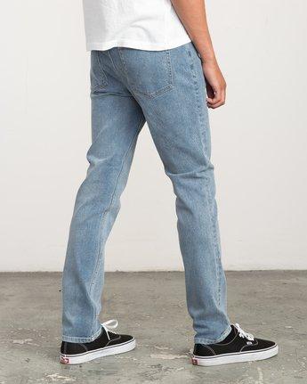 4 Hexed Slim Fit Denim Jeans Blue M306QRHD RVCA