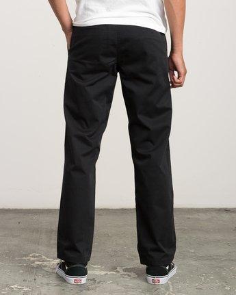 3 Big RVCA Chino Pant Black M308QRBR RVCA