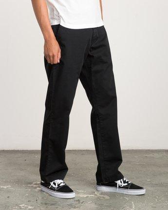 5 Big RVCA Chino Pant Black M308QRBR RVCA