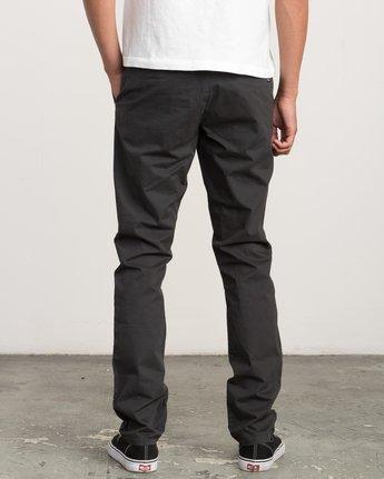 3 Daggers Slim-Straight Chino Pant Black M309QRDC RVCA