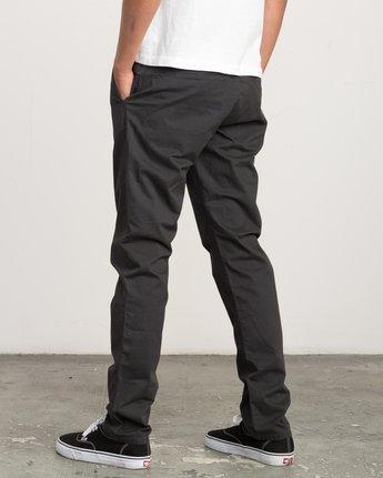 2 Daggers Slim-Straight Chino Pant Black M309QRDC RVCA