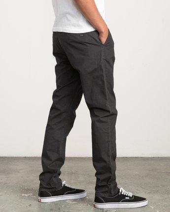 4 Daggers Slim-Straight Chino Pant Black M309QRDC RVCA