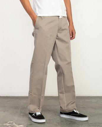 2 Big RVCA Neutral Pants Green M310QRBR RVCA