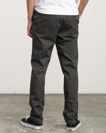 3 A.T. Dayshift Elastic Pant II Black M310QRDS RVCA