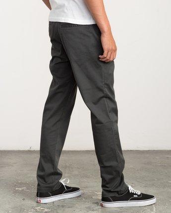 4 A.T. Dayshift Elastic Pant II Black M310QRDS RVCA