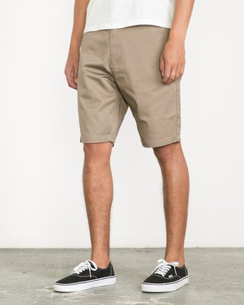 2 Week-End Shorts Green M3211WES RVCA