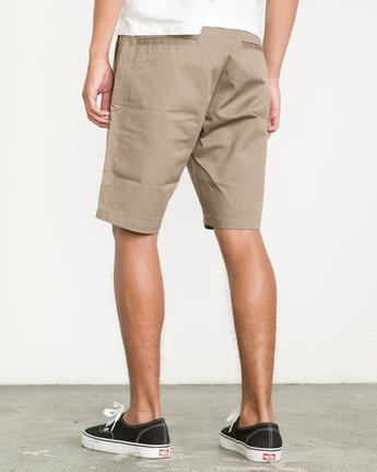 3 Week-End Shorts Green M3211WES RVCA