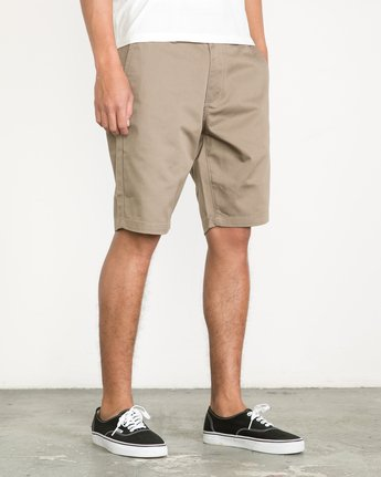 6 Week-End Shorts Green M3211WES RVCA
