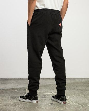 3 Christian Hosoi Sweat Pant Black M350SRHS RVCA