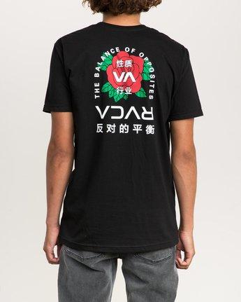 4 Roze T-Shirt Black M401PRRT RVCA