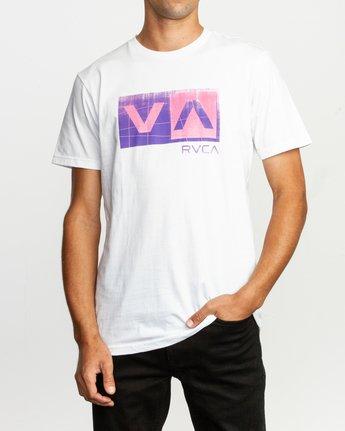 1 Balance Box T-Shirt White M401TRBA RVCA