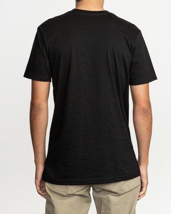 3 Blinded T-Shirt Black M401TRBL RVCA