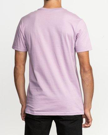 3 Blinded T-Shirt Purple M401TRBL RVCA