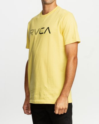 2 Blinded T-Shirt Yellow M401TRBL RVCA