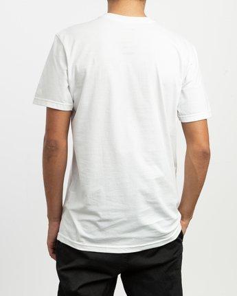 4 Tom Gerrard Drapery T-Shirt White M401TRDR RVCA