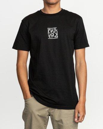 2 Flipper T-Shirt Black M401TRFL RVCA