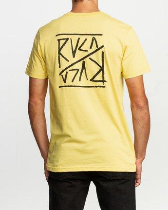 4 Flipper T-Shirt Yellow M401TRFL RVCA