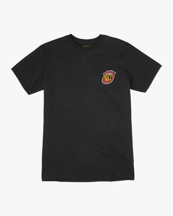 1 Dmote Jetty Lips T-Shirt Black M401TRJE RVCA