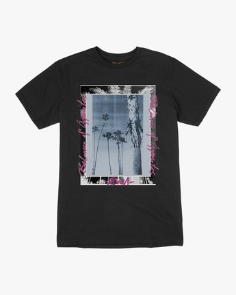 0 Last Paradise T-Shirt Black M401TRLA RVCA