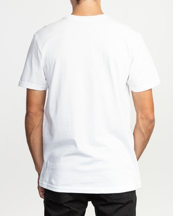 3 Last Paradise T-Shirt White M401TRLA RVCA