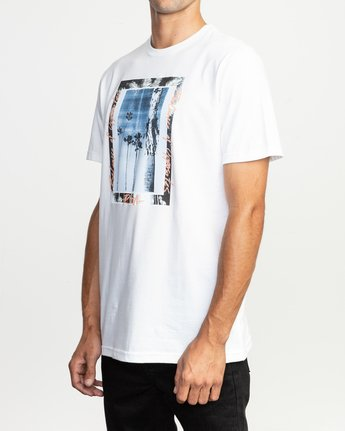 2 Last Paradise T-Shirt White M401TRLA RVCA