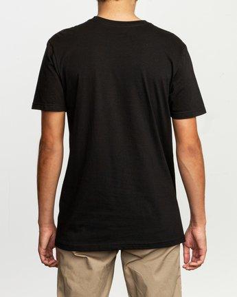 3 Dmote Mascot T-Shirt Black M401TRMA RVCA