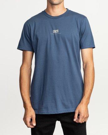 2 Mind Wrap T-Shirt Blue M401TRMI RVCA