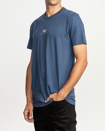 3 Mind Wrap T-Shirt Blue M401TRMI RVCA