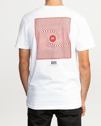 4 Mind Wrap T-Shirt White M401TRMI RVCA