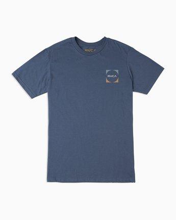 1 Motorstripe T-Shirt Blue M401TRMS RVCA