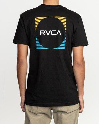 4 Motorstripe T-Shirt Black M401TRMS RVCA