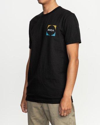 3 Motorstripe T-Shirt Black M401TRMS RVCA