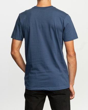 3 Ben Horton Off Track T-Shirt Blue M401TROF RVCA