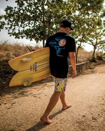 2 Sage Vaughn Shroom Collage T-Shirt Black M401TRSH RVCA