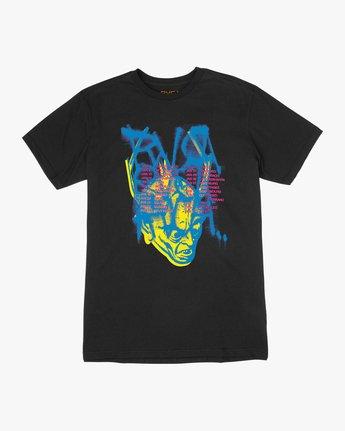 0 Dmote Strange Tour T-Shirt Black M401TRST RVCA