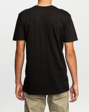 3 Dmote Strange Tour T-Shirt Black M401TRST RVCA
