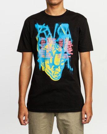 1 Dmote Strange Tour T-Shirt Black M401TRST RVCA
