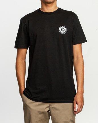 2 JeanJean Tigre T-Shirt Black M401TRTI RVCA