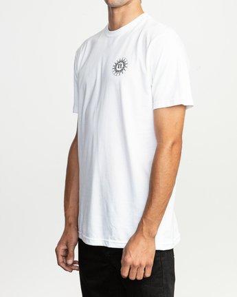 3 JeanJean Tigre T-Shirt White M401TRTI RVCA